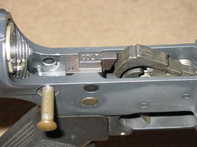 Is That An Auto Sear Pin I See Rifles Shotguns